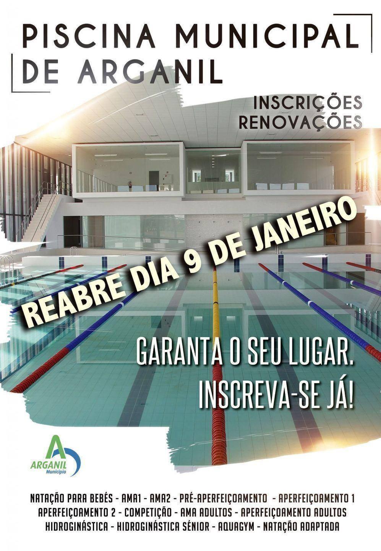 Reabertura da piscina municipal de arganil munic pio de for Piscina municipal de salt