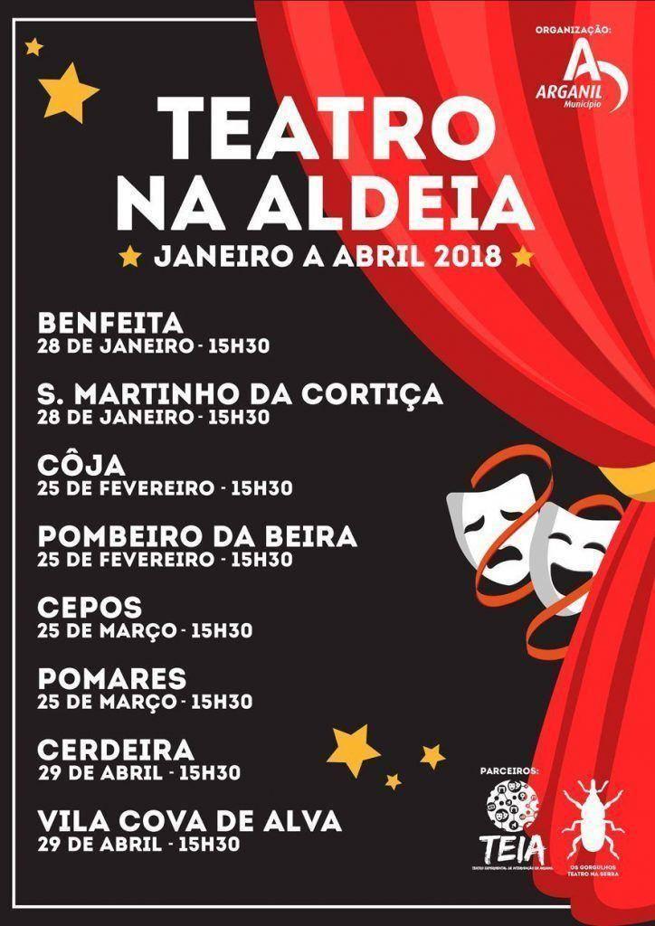 03deed6fb3 ... as companhias de teatro do concelho convidadas para esta jornada