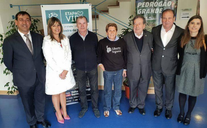 Etapa Solidária da Volta a Portugal com passagem por Arganil