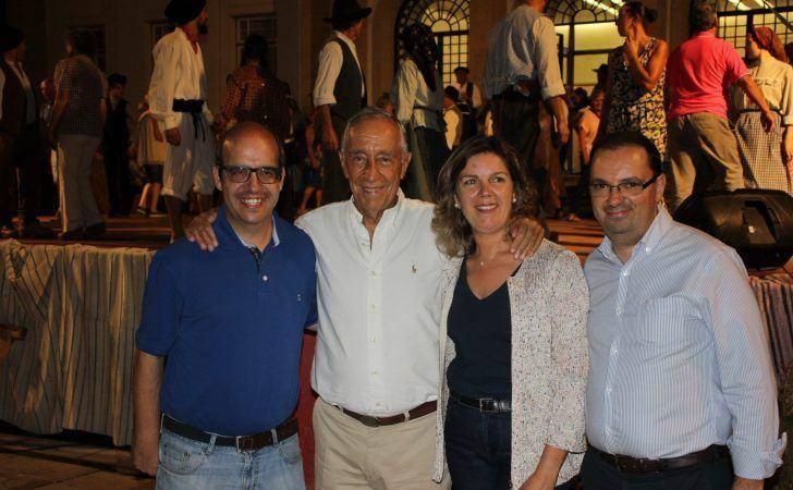 Marcelo Rebelo de Sousa esteve de férias em Arganil