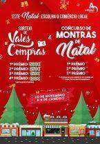 Sorteio de Vales de Compras e Concurso de Montras de Natal