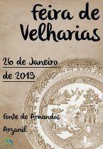Feira de Velharias – Janeiro 2019