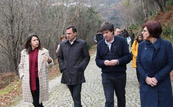 Secretária de Estado anuncia investimento de 600 mil euros para a Mata da Margaraça