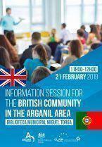 Sessão de esclarecimento para a Comunidade Inglesa da zona de Arganil (Brexit)