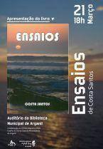 """Apresentação do Livro """"ENSAIOS"""" de Costa Santos"""