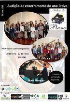Audição de Piano – Encerramento do ano letivo