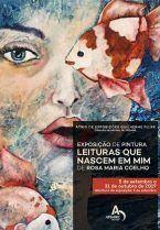 """Exposição de pintura """"Leituras que nascem em mim"""""""