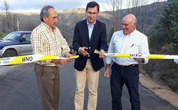 Luís Paulo Costa inaugura reabilitação da estrada entre Pomares e Monte Frio