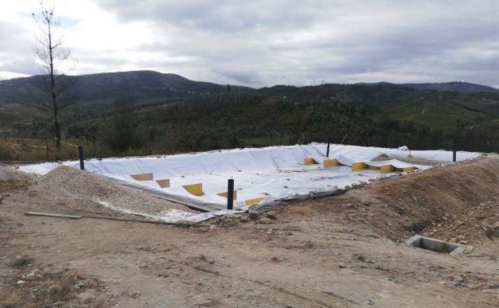 Câmara Municipal reabilita ETAR da Cerdeira e da Zona Industrial de Côja danificadas pelo incêndio