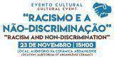 """Evento Cultural: """"Racismo e a Não-Discriminação"""""""
