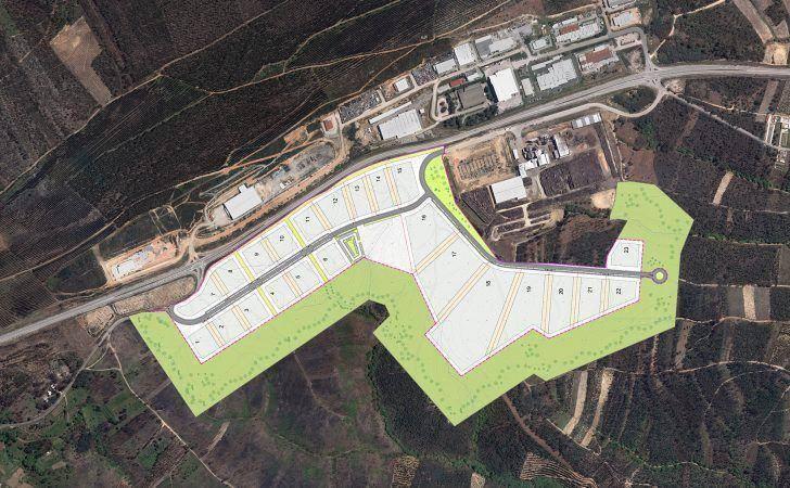 Município de Arganil lança concurso público para ampliação da Zona Industrial da Relvinha