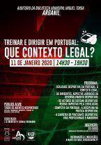 Ação de Formação: Treinar e dirigir em Portugal: contexto legal
