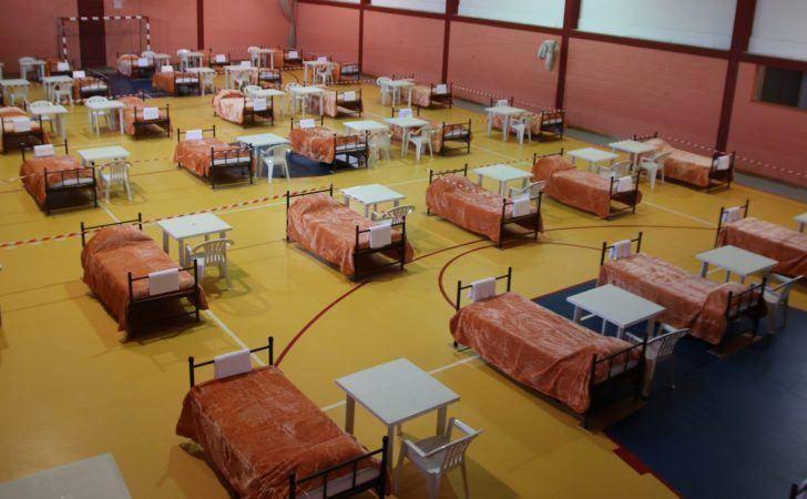Autarquia instala hospital de campanha no pavilhão da EB 2,3 de Arganil