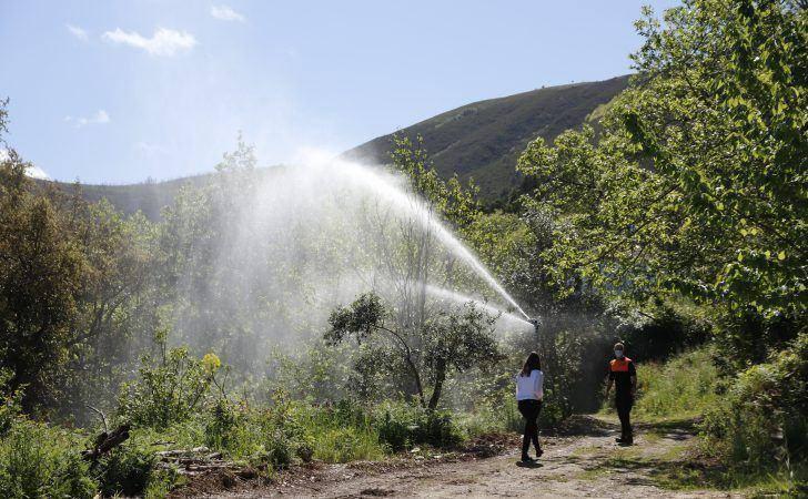 Concelho de Arganil recebe sistema piloto de proteção de povoações contra o risco de incêndio florestal