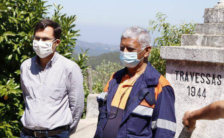 Arganil beneficia de sistema inovador que protege casas e povoações contra incêndios