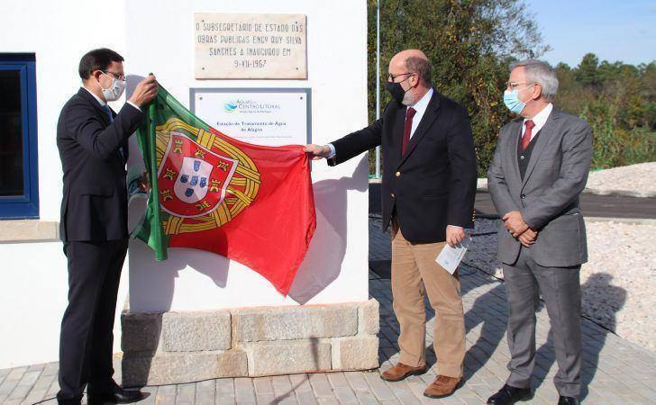 Ministro do Ambiente inaugura Estação de Tratamento de Água da Alagoa/Feijoal