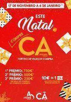 """""""Este Natal, compre CÁ"""" – iniciativa de dinamização do comércio local"""