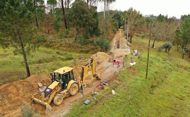 Novo subsistema de saneamento de Casal de S. José em curso