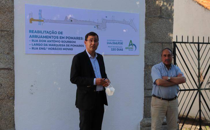 Município de Arganil investe 150 mil euros na reabilitação de arruamentos em Pomares