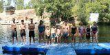 Equipa de competição da EMNArganil realizou atividade na Praia Fluvial da Cascalheira – Arganil