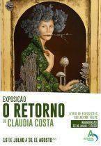"""Exposição de pintura   """"O Retorno"""" de Cláudia Costa"""