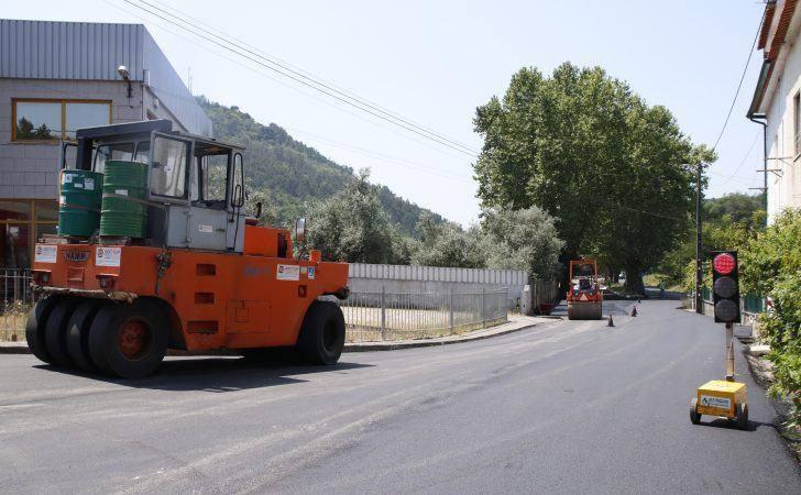 Pavimentação da estrada entre Arganil e Folques já começou