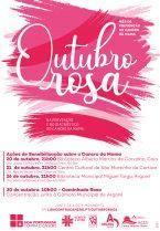 """Campanha """"Outubro Rosa"""", prevenção do cancro da mama 2021"""